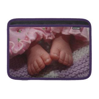 Baby feet MacBook air sleeve