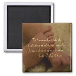 baby feet magnet magnet
