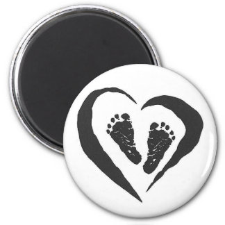 Baby feet Magney Magnets