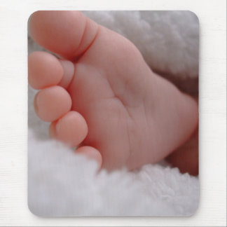 Baby Feet Mouse Pad