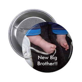 Baby Feet, New Big Brother!! Pin