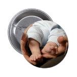 Baby Feet Pinback Button
