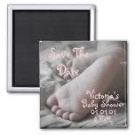 Baby Feet Refrigerator Magnet