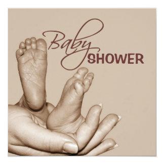 Baby feet Shower Invitation
