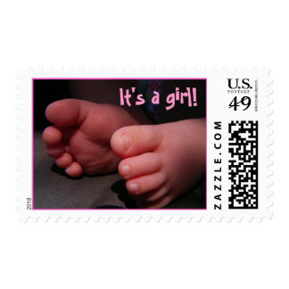 baby feet stamp