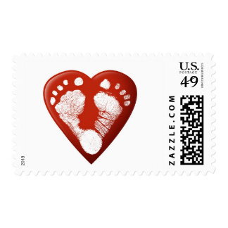 Baby feet stamps