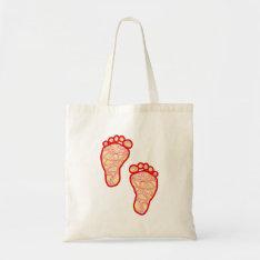 Baby Feet Tote Bag at Zazzle