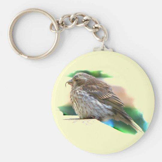Baby Finch Keychain