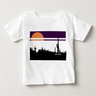 Baby Fine Jersey T-Shirt AZ POSTCARD DESIGN