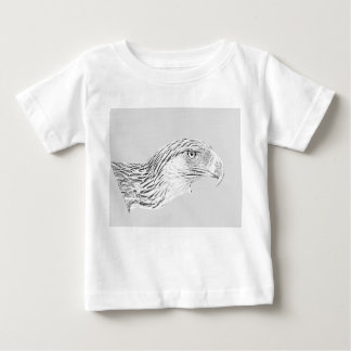Baby Fine Jersey T-Shirt Great Philippine Eagle