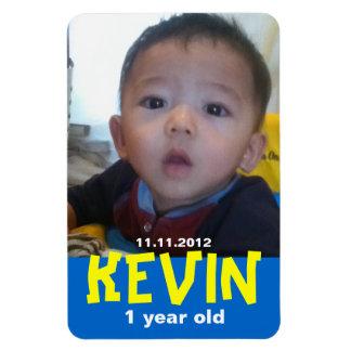Baby First Birthday Magnet