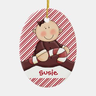 Baby First Christmas Girl Christmas Tree Ornament