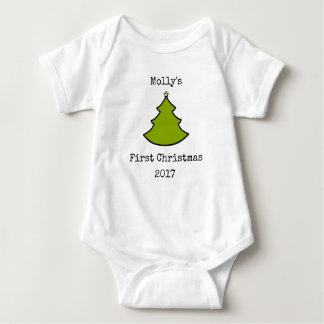 Baby First Christmas Onsie Bodysuit