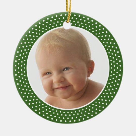 Baby' First Christmas - PHOTO FRAME Ornament