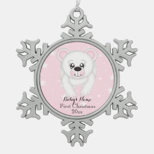 Pink Bear Ornaments Amp Keepsake Ornaments Zazzle