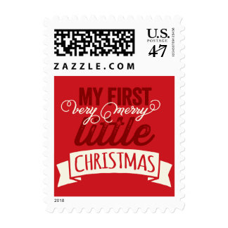 Baby First Merry Little Christmas Holiday Stamps
