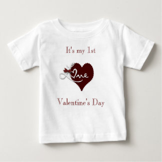 Baby first Valentine's day t.shirt Baby T-Shirt