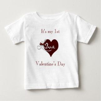 Baby first Valentine's day t.shirt Shirt