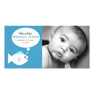 Baby Fish Blue Card