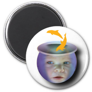 Baby Fish Bowl Magnet