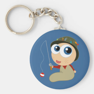 Baby Fisherman Key Chain