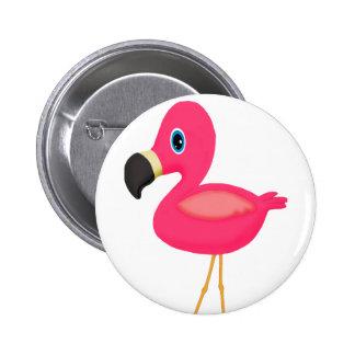 Baby Flamingo Button