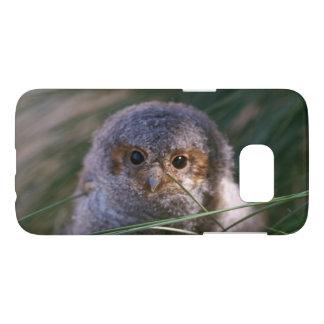Baby Flammulated Owl Photograph Samsung Galaxy S7 Case