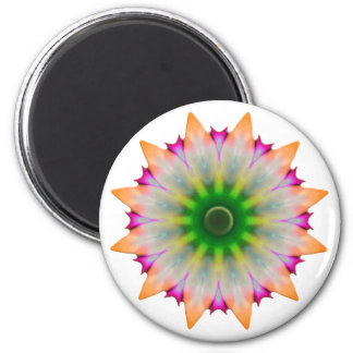 Baby Flower 2 Inch Round Magnet