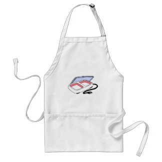 Baby food warmer graphic aprons