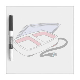 Baby food warmer graphic Dry-Erase board