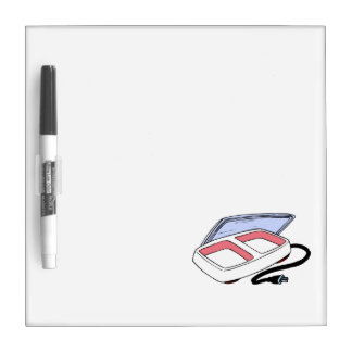 Baby food warmer graphic dry erase board