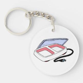 Baby food warmer graphic keychain