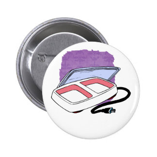 Baby food warmer graphic pinback button