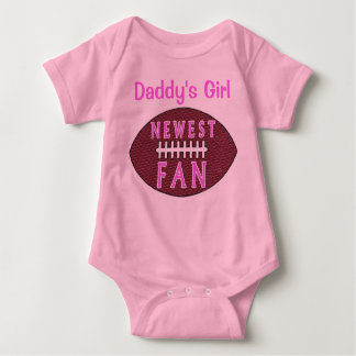 BABY FOOTBALL FOR BABY GIRLS T SHIRT