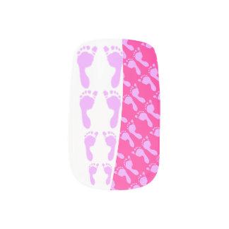 Baby Footprints (Girl) Minx® Nail Wraps