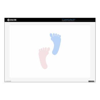 Baby Footprints Laptop Skins