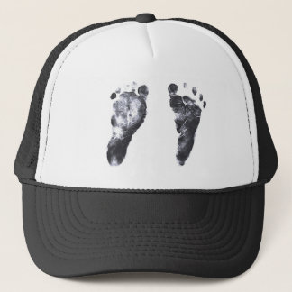 Baby Footprints Trucker Hat