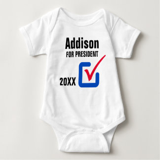 Baby for President Baby Bodysuit