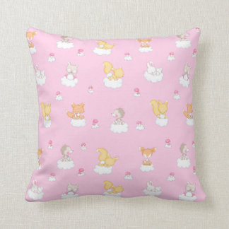 Baby Forest Throw Pillow