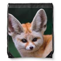 BABY FOX DRAWSTRING BAG