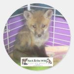 baby fox stickers