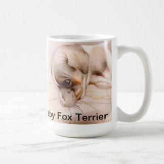 Baby Fox Terrier Coffee Mug