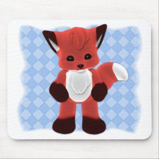 Baby Fox Toon Friend Mousepad