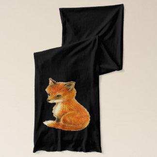 Baby Fox Vintage Scarf