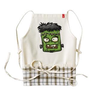 Baby frankenstein - baby frank - frank face zazzle HEART apron