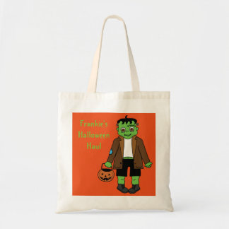 Baby Frankenstein candy sack Tote Bag