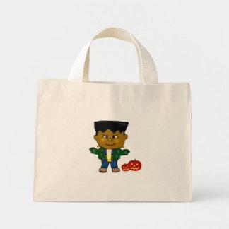 Baby Frankenstein Halloween Candy Bag