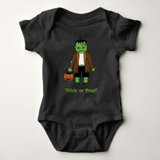 Baby Frankenstein - trick or treat Baby Bodysuit