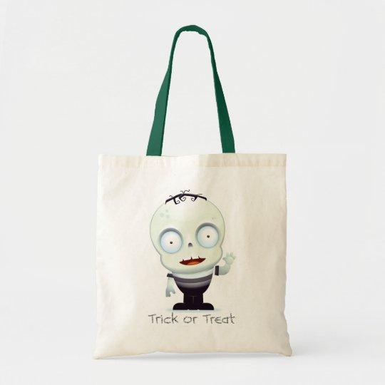 Baby Frankenstein Trick or Treat Bag
