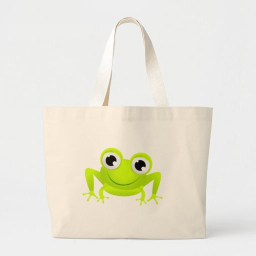 Baby Frog Tote Bags